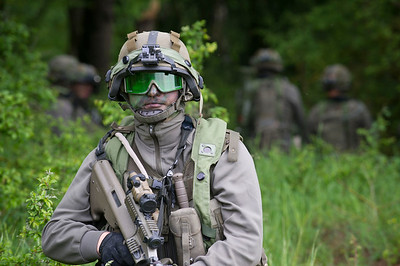 Austrian Soldiers develop skills during CR-II