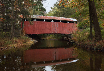 Richard's Covered Bridge, Columbia County, PA