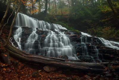Mohawk Falls at Ricketts Glen, PA