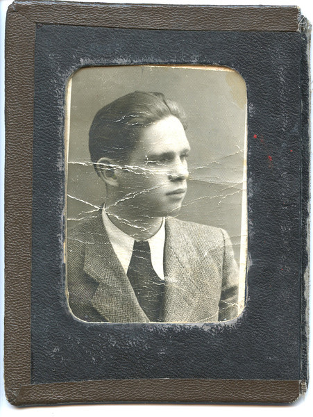 Alex's Red Cross ID, 1944
