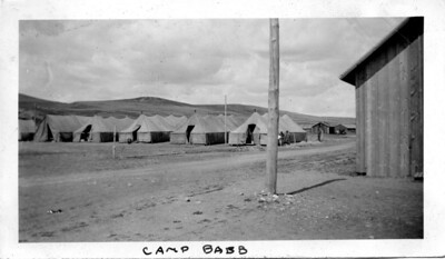 View of Camp BR 32, Babb, Montana.