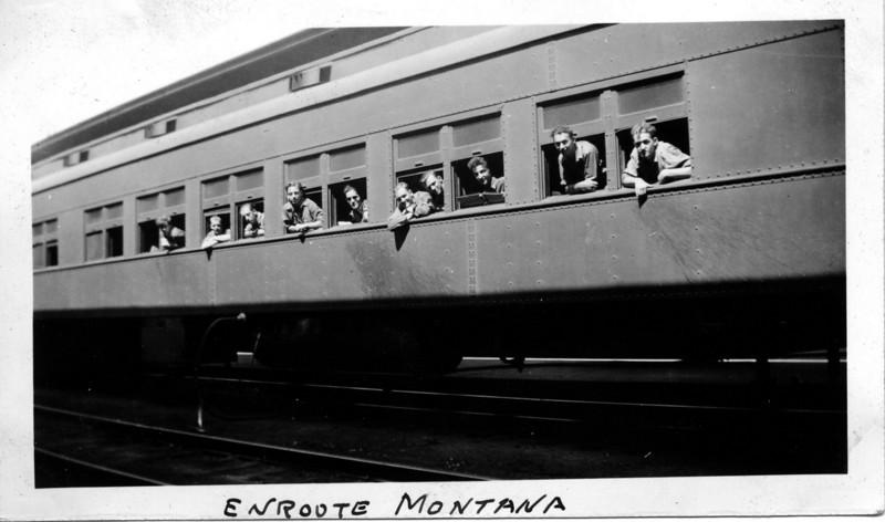 Train Stop at Fargo, North Dakota, July 31, 1935