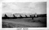 View of Camp BR 32, Glacier Park (Babb), Montana. Co. 1214 CCC. August 1935