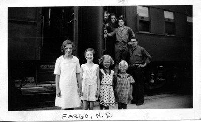 Snapped at Fargo, North Dakota, July 31,1935