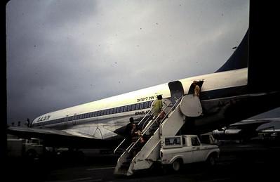 Boarding El Al in NY