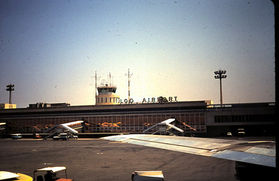Lod, the old airport.