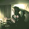 Grandma on the plane
