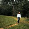 Ruth in the field - Dordogne