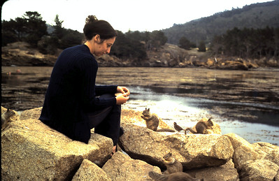 Ruth at Point Lobos