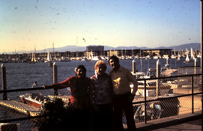 Yaffa, Safta and Mordehai at marina del Rey