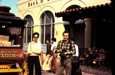 Ruth and Jean Philippe at Olvera Street