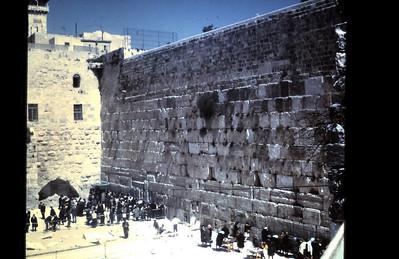 Wailing Wall 1967