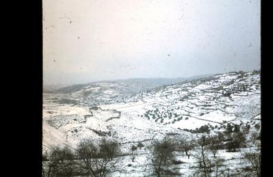 Jerusalem, January 1968