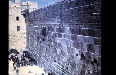 Wailing Wall, 1967