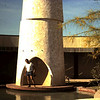 Mordehai at Gila Indian Museum