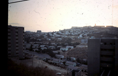 Jerusalem Hills - Cabins for immigrants in early 50's from my Kiryat Yovel apartment