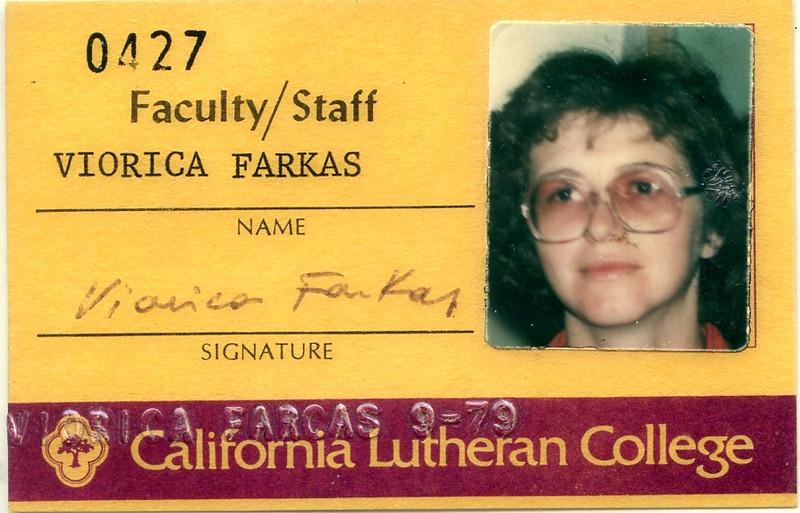 1979ca Ibi Cal Lutheran ID
