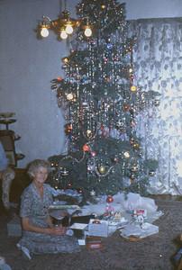 Mayme Riches, Shirley Johnson's Aunt. Nephi UT. 1950