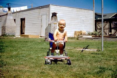 Toni Johnson, San Pedro, CA. 1950s.