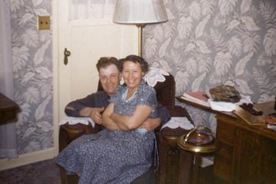Clark & Gladys Johnson, 1950s.
