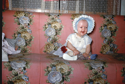 Toni Johnson, in San Pedro, 1950s