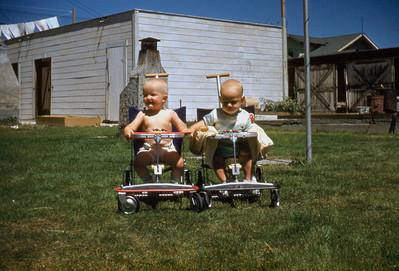 Toni Johnson and Douglas Danielson, San Pedro CA. 1950