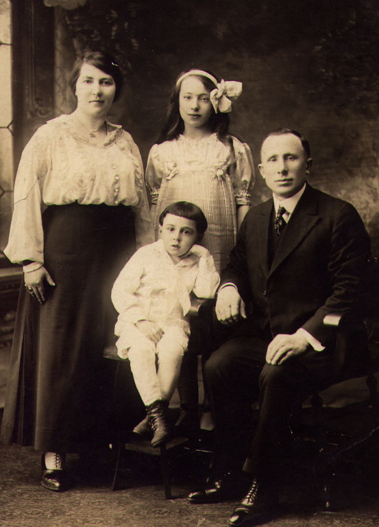 Miriam, Harry, Sonia, and Eliezer Kaufman