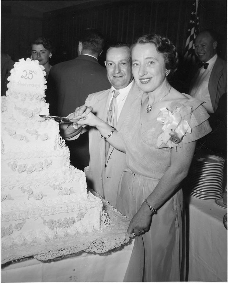 Joe and Sonia's 25th Anniversary, 1950