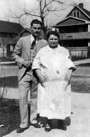 Ruchel Schechtman and Red Miller, 1928