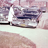 Mom with our 1959 Plymouth Fury