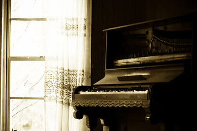 Delta music! Some old pianos and other southern style photos of mississippi music! Some photos just scream for Black and White! These Mississippi Delta photos are no exception. Some old churches and other items found inside the church that represent our southern faith.