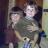 Matt loving little brother Daniel