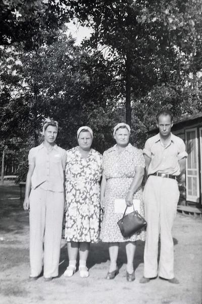 Mildred Arthur Baker Perkins;  Rillie Arthur Allen; Estella Arthur Finch; William Pierce Arthur Sr.