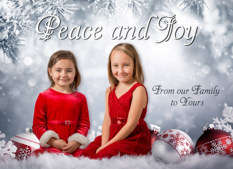 FionaLilahChristmasCard5X7PeaceJoy