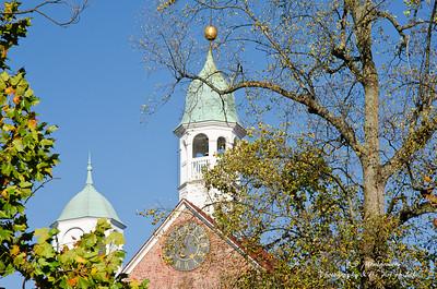 Bell Tower at Home Moravian in Old Salem Winston-Salem, NC
