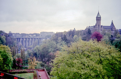 Scanned slides of Luxembourg