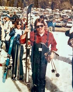 Bob Johnson Skiing
