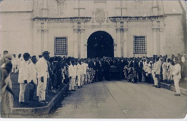 December 20, 1925 Burial day of Lucio Uy Herrera