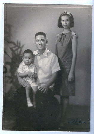 Papa and Mama's 3rd wedding anniversary (Oct 7, 1965)