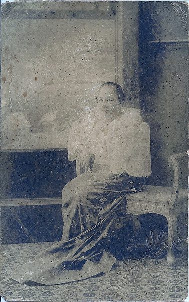 My Great Grandmother Lola Gonay.....Carlota Jabonero Herrera (Wife of Lucio Uy Herrera)