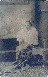 My Great Grandmother Lola Gonay.....Carlota Jabonero Herrera (Wife of Lucio Uy Herrera)