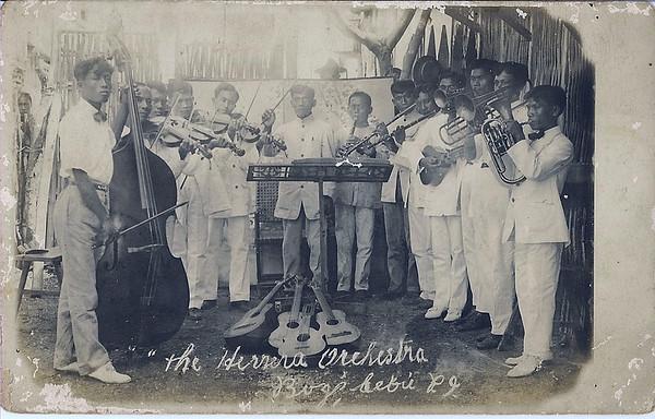 The Herrera Orchestra headed by Lucio Uy Herrera