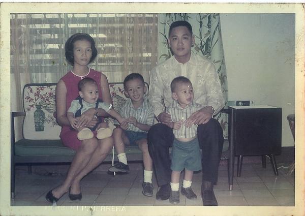 The Herrera's in 1967 Ibarra St