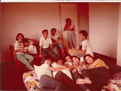 Madridejos at Cherrie's house