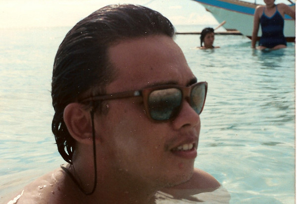 Boracay. Clavel and Anfil in the background