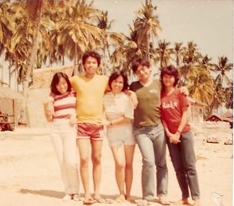 Sally, me, Huggy, Tao and Gladys