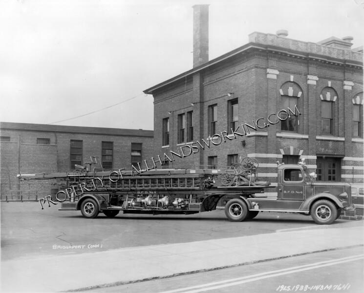 Bridgeport Truck 6 Mack 1933