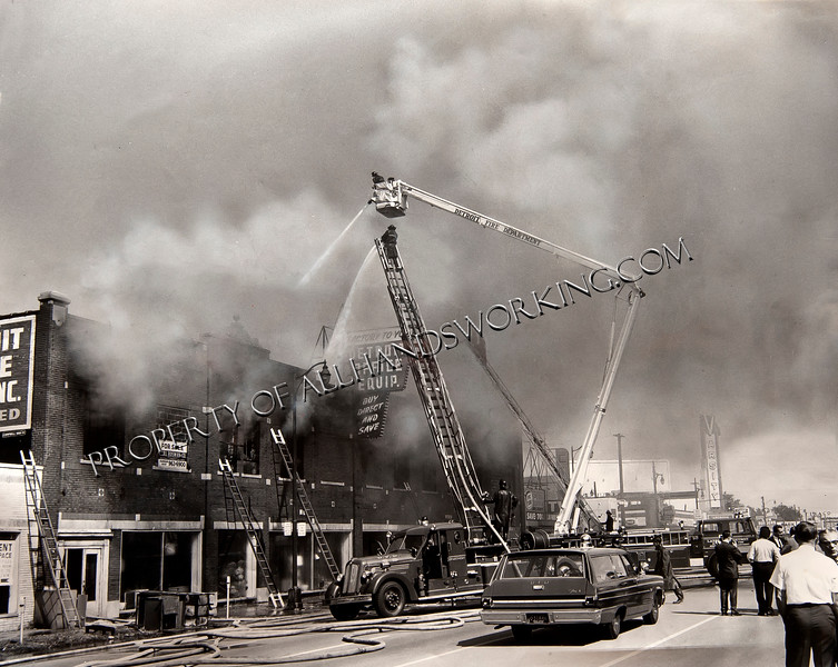 Detroit Office Equipment Fire