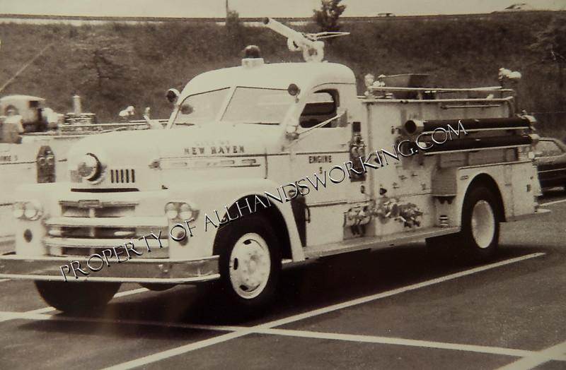 New Haven Engine 5 Foam Wagon