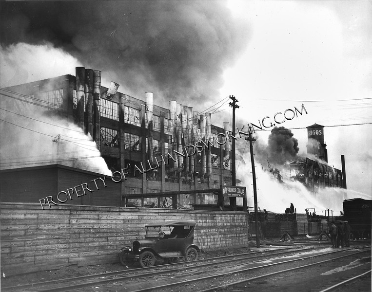 1937 Detroit, MI fire Harper and Russell